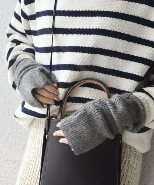 SHIPS for women / シップスウィメン 手袋 | 《予約》へアリーリストウォーマー 19FW◆ | 詳細5