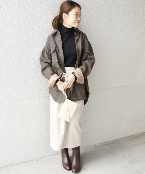 SHIPS for women / シップスウィメン ミニ・ひざ丈スカート | コーデュロイスリットスカート | 詳細5