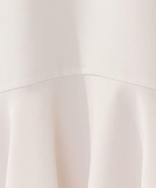SHIPS for women / シップスウィメン ミニ丈・ひざ丈ワンピース   ジョーゼットフレアワンピース【フォーマル対応】◇   詳細17