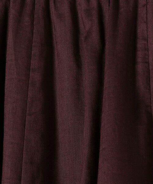 SHIPS for women / シップスウィメン ミニ・ひざ丈スカート | テレデランリネンスカート◇ | 詳細29