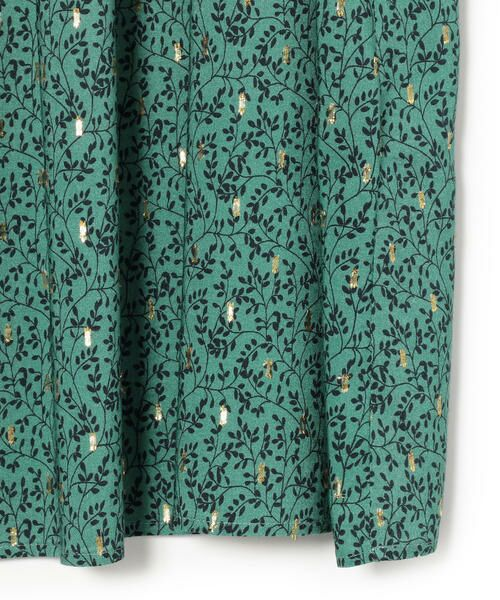 SHIPS for women / シップスウィメン ロング・マキシ丈スカート | ラメプリントギャザースカート | 詳細4