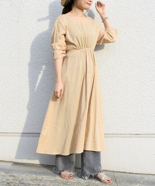 SHIPS for women / シップスウィメン ミニ丈・ひざ丈ワンピース   コットンカシュクール2WAYワンピース   詳細15