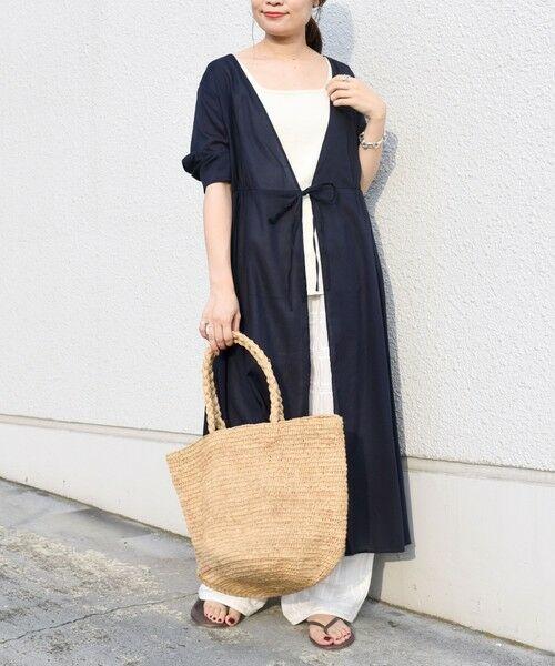 SHIPS for women / シップスウィメン ミニ丈・ひざ丈ワンピース   コットンカシュクール2WAYワンピース   詳細25