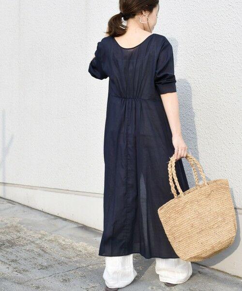 SHIPS for women / シップスウィメン ミニ丈・ひざ丈ワンピース   コットンカシュクール2WAYワンピース   詳細26