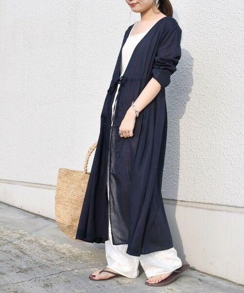 SHIPS for women / シップスウィメン ミニ丈・ひざ丈ワンピース   コットンカシュクール2WAYワンピース   詳細27