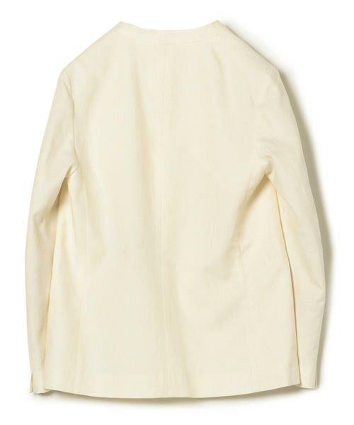 SHIPS for women / シップスウィメン ノーカラージャケット | NALYAノーカラー1ボタンジャケット | 詳細1