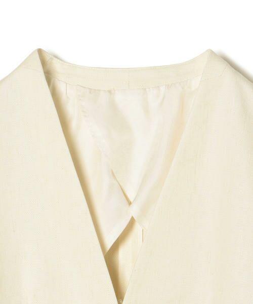 SHIPS for women / シップスウィメン ノーカラージャケット | NALYAノーカラー1ボタンジャケット | 詳細2