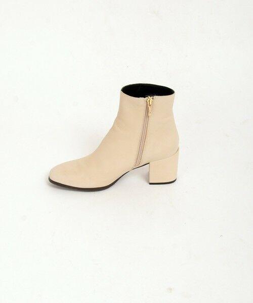SHIPS for women / シップスウィメン ブーツ(ショート丈) | MARIAN: サイドジップショートブーツ | 詳細3