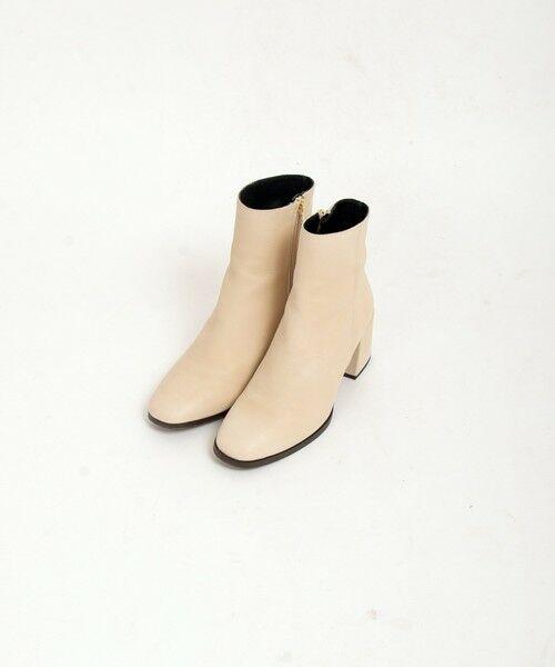 SHIPS for women / シップスウィメン ブーツ(ショート丈) | MARIAN: サイドジップショートブーツ | 詳細4