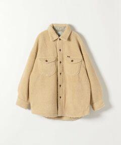 ◆大人気ブランドLeeのトレンド感たっぷりのボアジャケット◆<br><br>毎シーズンご好評いただいているLeeより、ボア素材のCPOジャケットが登場。<br>軽い着心地ですがしっかりと暖かく、ふわふわの柔らかいボア素材が女性らしい印象に仕上げてくれます。<br>トレンド感たっぷりのオーバーサイズで、羽織るだけでいつものコーディネートを新鮮に見せてくれるアイテム。<br>少し肌寒い時期にサッと羽織れるので、秋冬に活躍間違いなしです!<br><br>※末永く愛用頂く為に、アテンションタグ・洗濯ネームを必ずご確認の上、着用又はお取り扱い下さい