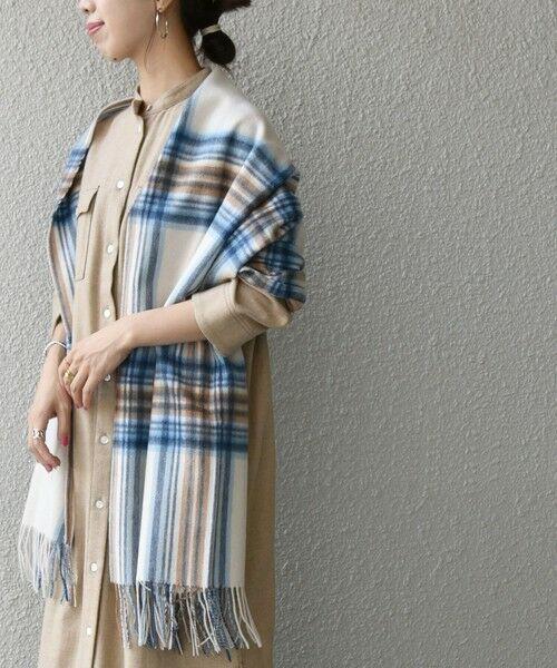 SHIPS for women / シップスウィメン ロング・マキシ丈ワンピース   SHIPS any: ウール メランジ シャツワンピース   詳細12