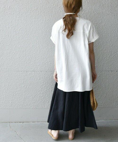 SHIPS for women / シップスウィメン Tシャツ | 《追加予約》SHIPS any: USAコットン スキッパーTEE | 詳細10