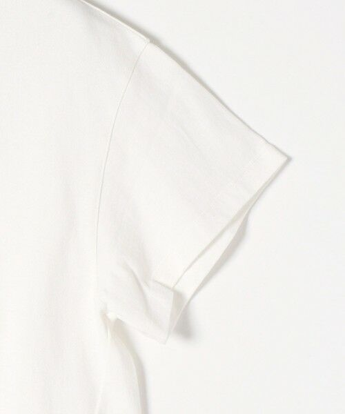 SHIPS for women / シップスウィメン Tシャツ | 《追加予約》SHIPS any: USAコットン スキッパーTEE | 詳細3