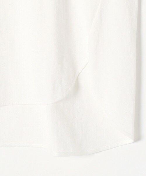 SHIPS for women / シップスウィメン Tシャツ | 《追加予約》SHIPS any: USAコットン スキッパーTEE | 詳細4