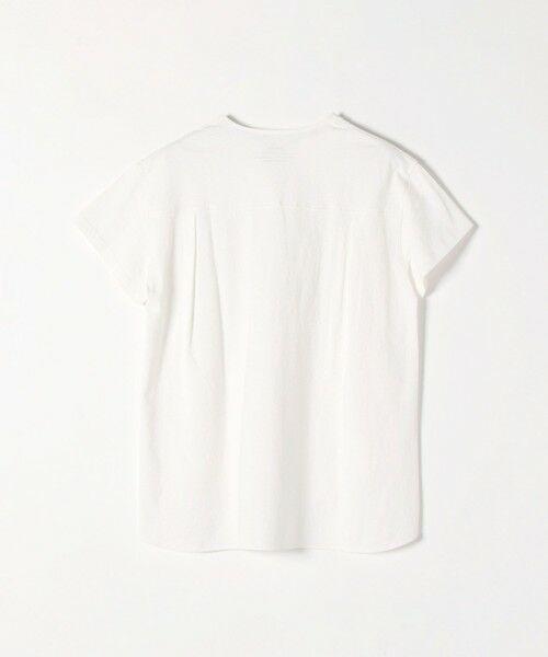 SHIPS for women / シップスウィメン Tシャツ | 《追加予約》SHIPS any: USAコットン スキッパーTEE | 詳細6