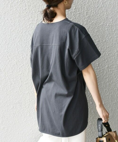 SHIPS for women / シップスウィメン Tシャツ | 《追加予約》SHIPS any: USAコットン スキッパーTEE | 詳細15