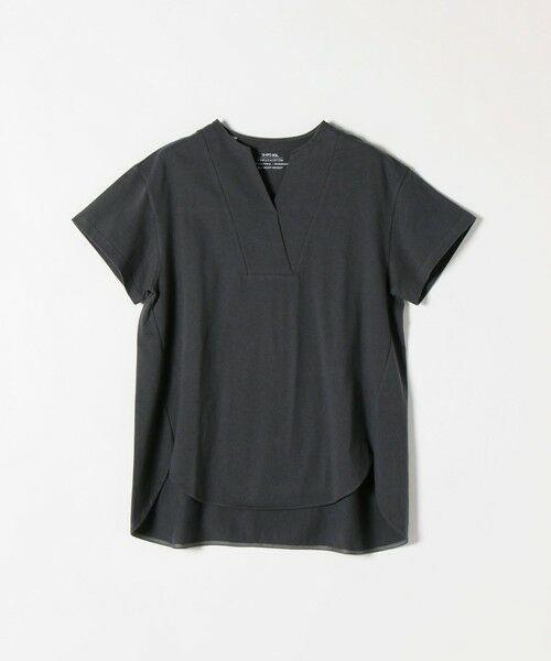 SHIPS for women / シップスウィメン Tシャツ | 《追加予約》SHIPS any: USAコットン スキッパーTEE | 詳細12