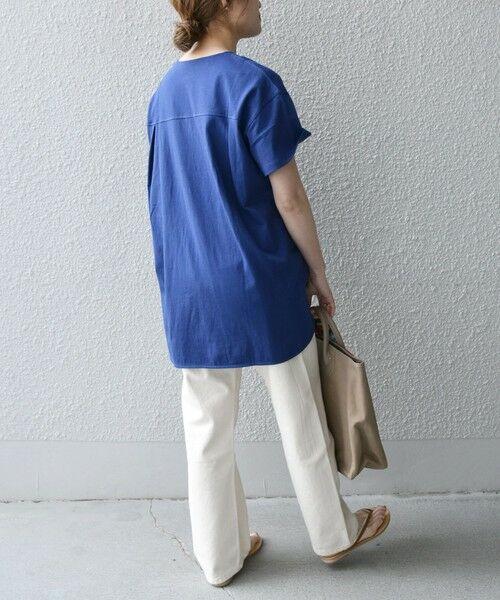 SHIPS for women / シップスウィメン Tシャツ | 《追加予約》SHIPS any: USAコットン スキッパーTEE | 詳細26