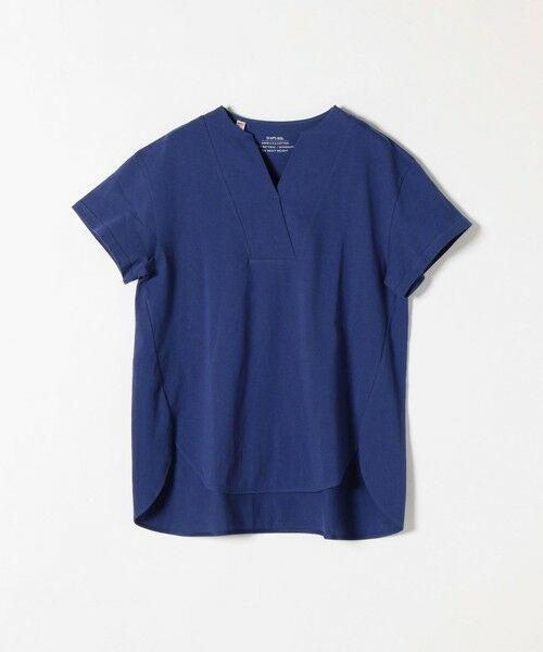 SHIPS for women / シップスウィメン Tシャツ | 《追加予約》SHIPS any: USAコットン スキッパーTEE | 詳細19