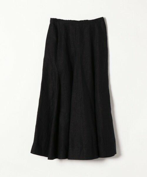 SHIPS for women / シップスウィメン ロング・マキシ丈スカート | 《一部追加予約》SHIPS any: リネン ミックス ランダム フレア スカート | 詳細1