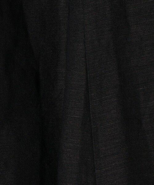 SHIPS for women / シップスウィメン ロング・マキシ丈スカート | 《一部追加予約》SHIPS any: リネン ミックス ランダム フレア スカート | 詳細2