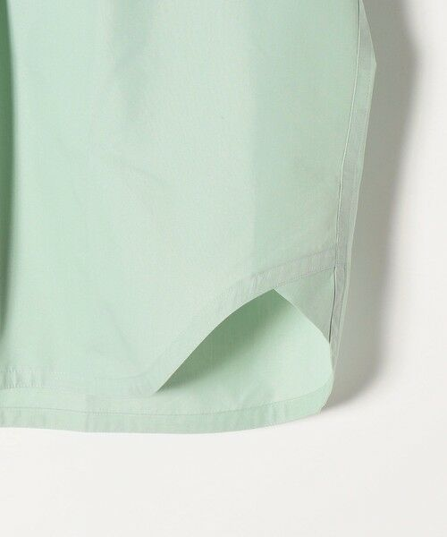 SHIPS for women / シップスウィメン シャツ・ブラウス | 《予約》SHIPS any: オーガニック RENU フレンチスリーブ バンドカラー シャツ〈抗菌防臭〉 | 詳細21