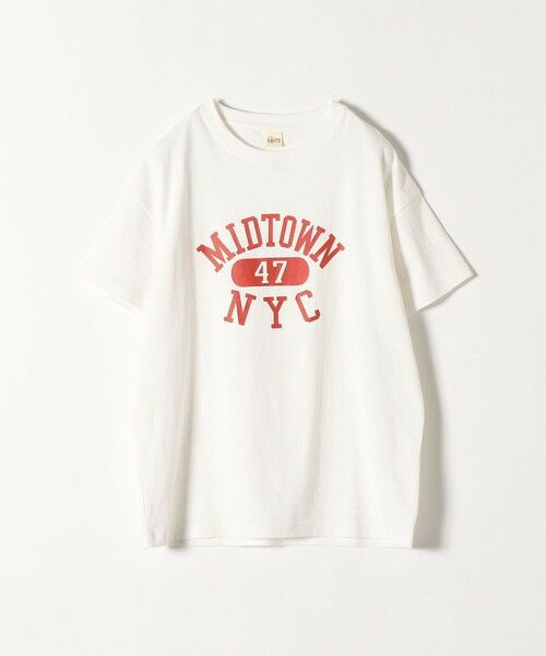 SHIPS for women / シップスウィメン Tシャツ | 《予約》【SHIPS any別注】THE KNiTS: カレッジ ショートスリーブ TEE | 詳細1