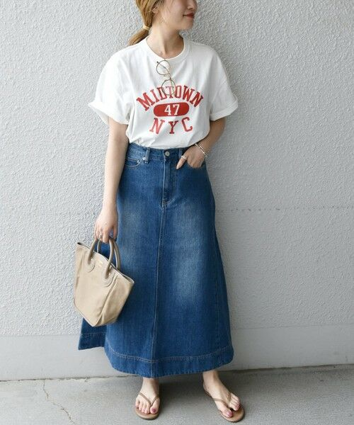 SHIPS for women / シップスウィメン Tシャツ | 《予約》【SHIPS any別注】THE KNiTS: カレッジ ショートスリーブ TEE | 詳細10
