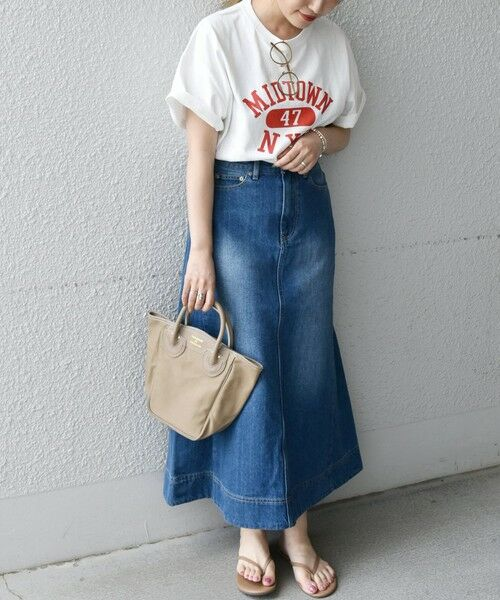 SHIPS for women / シップスウィメン Tシャツ | 《予約》【SHIPS any別注】THE KNiTS: カレッジ ショートスリーブ TEE | 詳細11