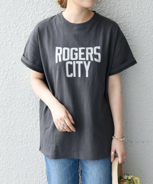 SHIPS for women / シップスウィメン Tシャツ | 《予約》【SHIPS any別注】THE KNiTS: カレッジ ショートスリーブ TEE | 詳細14