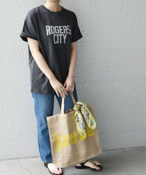 SHIPS for women / シップスウィメン Tシャツ | 《予約》【SHIPS any別注】THE KNiTS: カレッジ ショートスリーブ TEE | 詳細16
