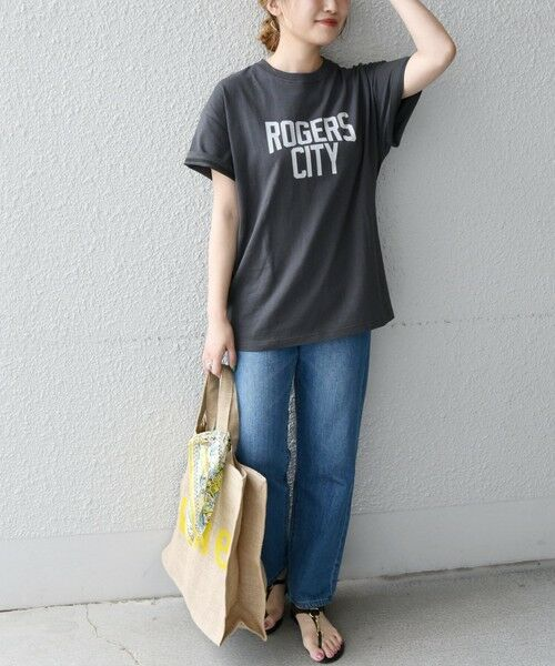 SHIPS for women / シップスウィメン Tシャツ | 《予約》【SHIPS any別注】THE KNiTS: カレッジ ショートスリーブ TEE | 詳細17