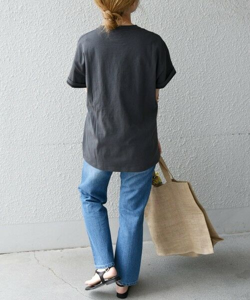 SHIPS for women / シップスウィメン Tシャツ | 《予約》【SHIPS any別注】THE KNiTS: カレッジ ショートスリーブ TEE | 詳細18
