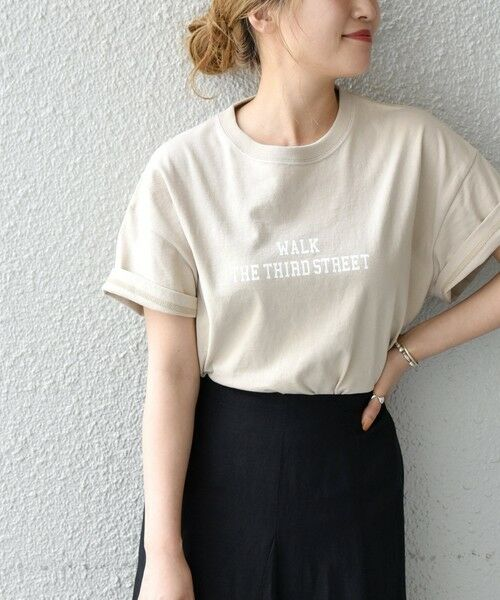 SHIPS for women / シップスウィメン Tシャツ | 《予約》【SHIPS any別注】THE KNiTS: カレッジ ショートスリーブ TEE | 詳細21