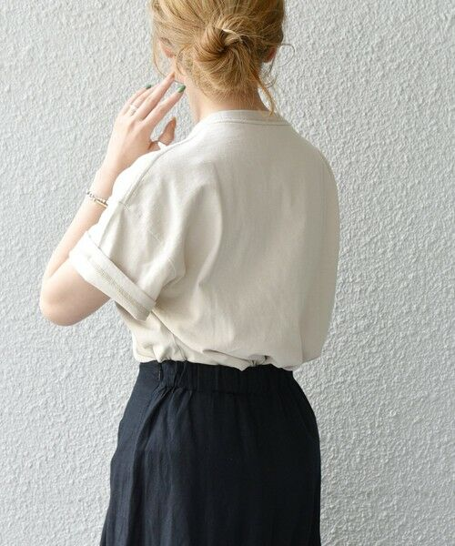 SHIPS for women / シップスウィメン Tシャツ | 《予約》【SHIPS any別注】THE KNiTS: カレッジ ショートスリーブ TEE | 詳細22