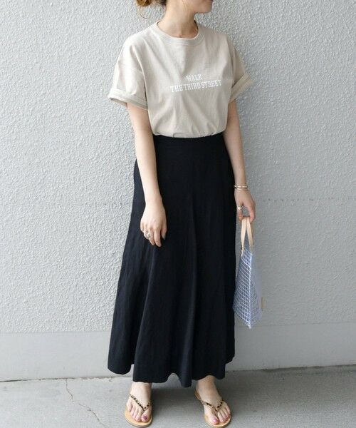 SHIPS for women / シップスウィメン Tシャツ | 《予約》【SHIPS any別注】THE KNiTS: カレッジ ショートスリーブ TEE | 詳細23