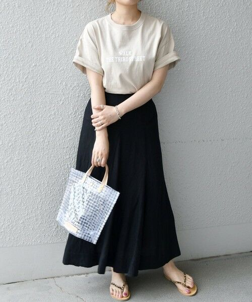SHIPS for women / シップスウィメン Tシャツ | 《予約》【SHIPS any別注】THE KNiTS: カレッジ ショートスリーブ TEE | 詳細25