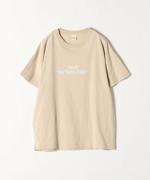 SHIPS for women / シップスウィメン Tシャツ | 《予約》【SHIPS any別注】THE KNiTS: カレッジ ショートスリーブ TEE | 詳細19