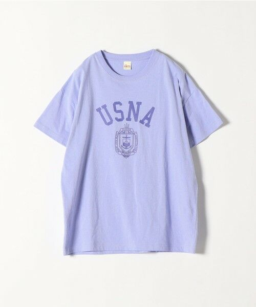 SHIPS for women / シップスウィメン Tシャツ | 《予約》【SHIPS any別注】THE KNiTS: カレッジ ショートスリーブ TEE | 詳細26