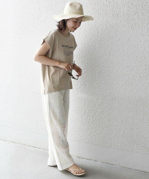 SHIPS for women / シップスウィメン カットソー   シルケットフレンチロゴトップス   詳細21