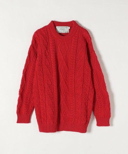 SHIPS for women / シップスウィメン ニット・セーター | 【SHIPS any別注】Oldderby Knitwear: アラン ケーブル ニット プルオーバー | 詳細1