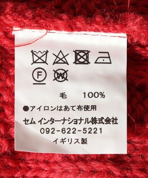 SHIPS for women / シップスウィメン ニット・セーター | 【SHIPS any別注】Oldderby Knitwear: アラン ケーブル ニット プルオーバー | 詳細6