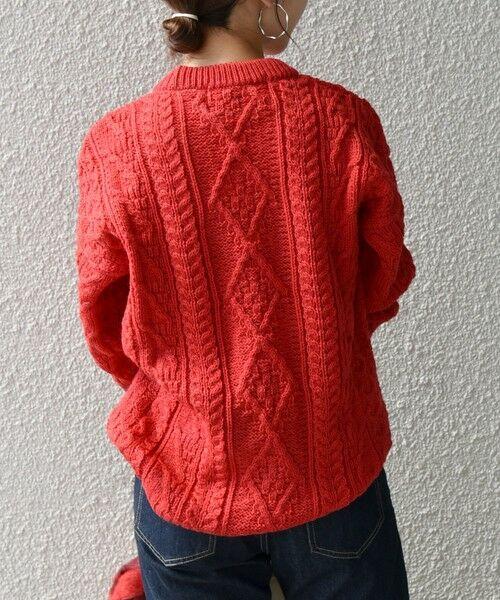 SHIPS for women / シップスウィメン ニット・セーター | 【SHIPS any別注】Oldderby Knitwear: アラン ケーブル ニット プルオーバー | 詳細8