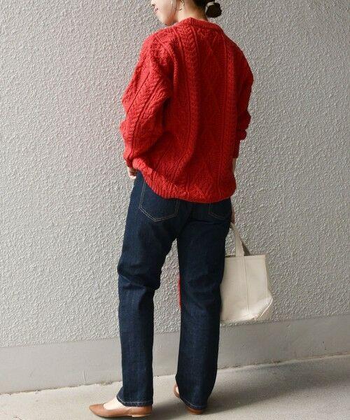 SHIPS for women / シップスウィメン ニット・セーター | 【SHIPS any別注】Oldderby Knitwear: アラン ケーブル ニット プルオーバー | 詳細10