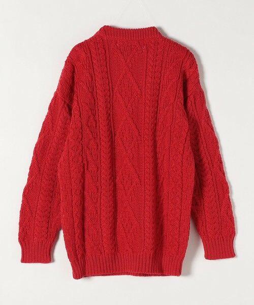 SHIPS for women / シップスウィメン ニット・セーター | 【SHIPS any別注】Oldderby Knitwear: アラン ケーブル ニット プルオーバー | 詳細2