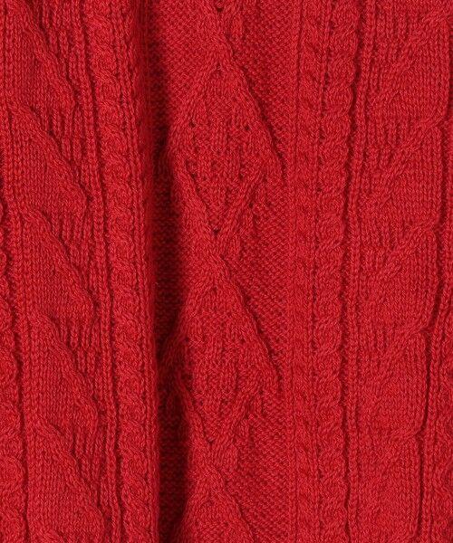 SHIPS for women / シップスウィメン ニット・セーター | 【SHIPS any別注】Oldderby Knitwear: アラン ケーブル ニット プルオーバー | 詳細5