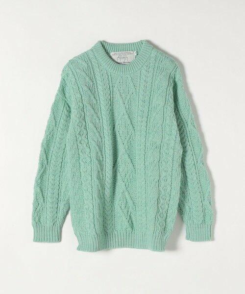SHIPS for women / シップスウィメン ニット・セーター | 【SHIPS any別注】Oldderby Knitwear: アラン ケーブル ニット プルオーバー | 詳細11
