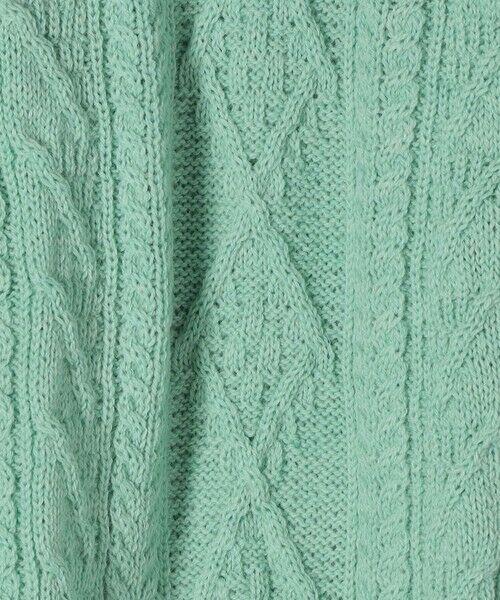 SHIPS for women / シップスウィメン ニット・セーター | 【SHIPS any別注】Oldderby Knitwear: アラン ケーブル ニット プルオーバー | 詳細12