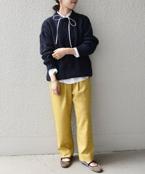 SHIPS for women / シップスウィメン ニット・セーター | 【SHIPS any別注】Oldderby Knitwear: アラン ケーブル ニット プルオーバー | 詳細20