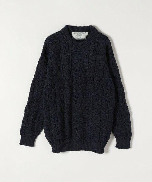 SHIPS for women / シップスウィメン ニット・セーター | 【SHIPS any別注】Oldderby Knitwear: アラン ケーブル ニット プルオーバー | 詳細16